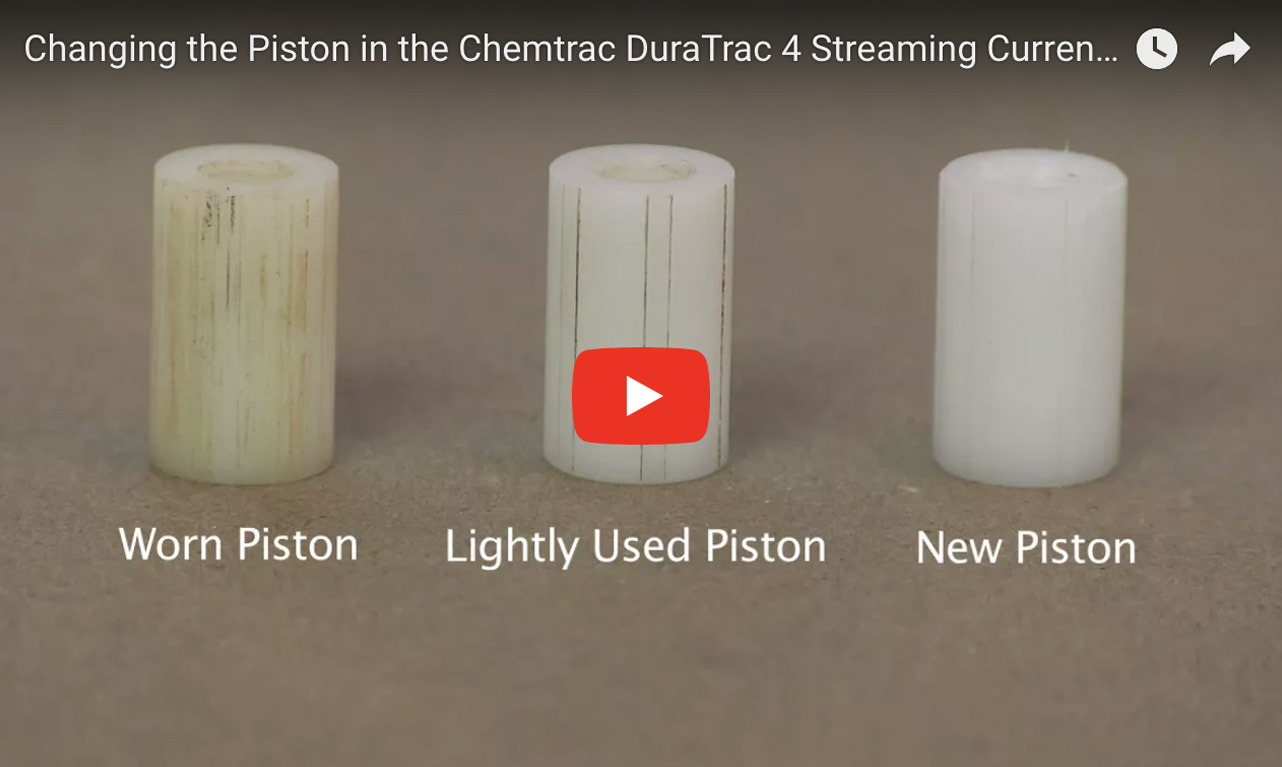 Changing the Piston in the Chemtrac DuraTrac 4 Streaming Current Sensor