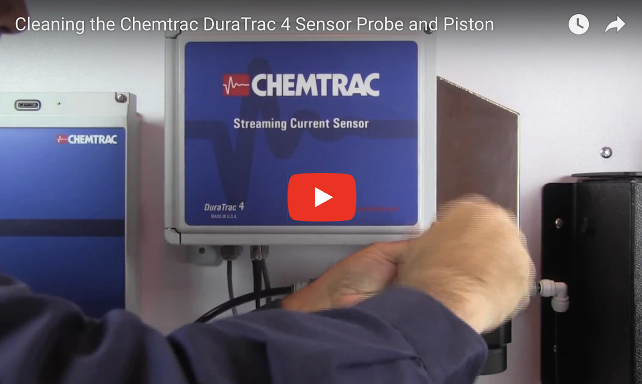 Cleaning the Chemtrac DuraTrac 4 Sensor Probe and Piston