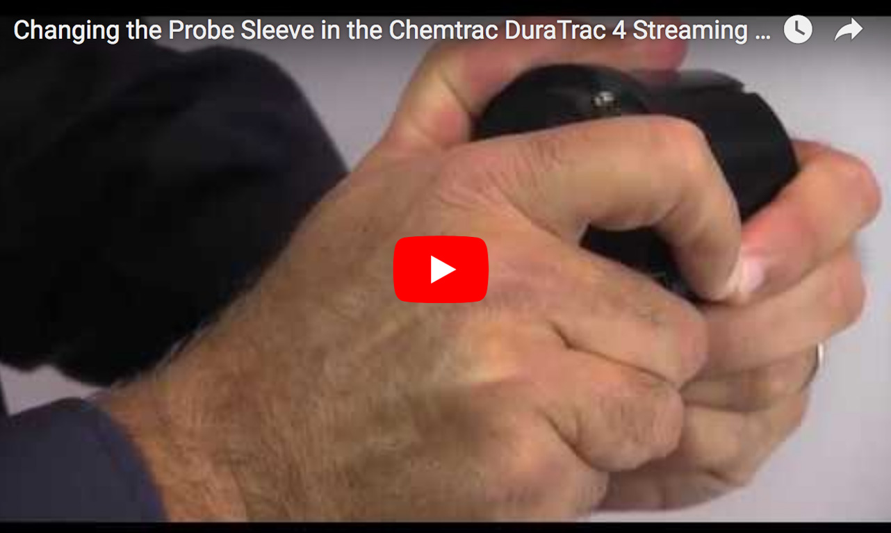 Changing the Probe in the Chemtrac DuraTrac 4 Streaming Current Sensor