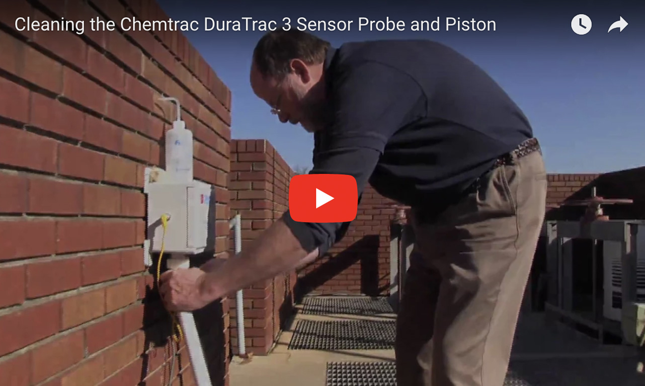 Cleaning the Chemtrac DuraTrac 3 Sensor Probe and Piston