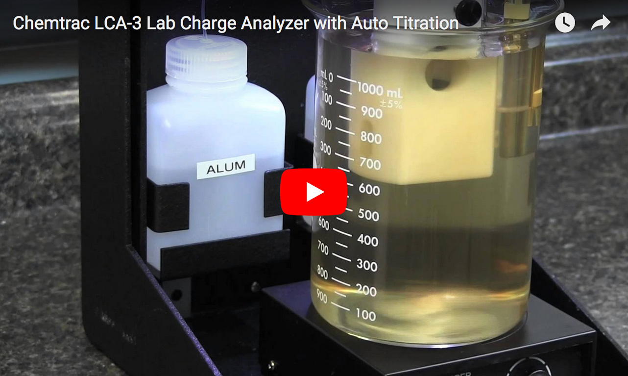 Laboratory Charge Analyzer with pH probe and Auto Titrator Demonstration