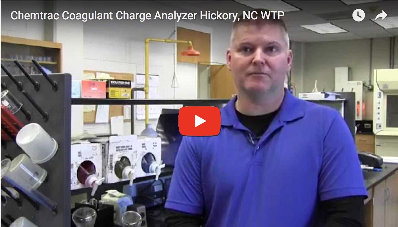 Hickory, NC | Coagulant Charge Analyzer Success Story