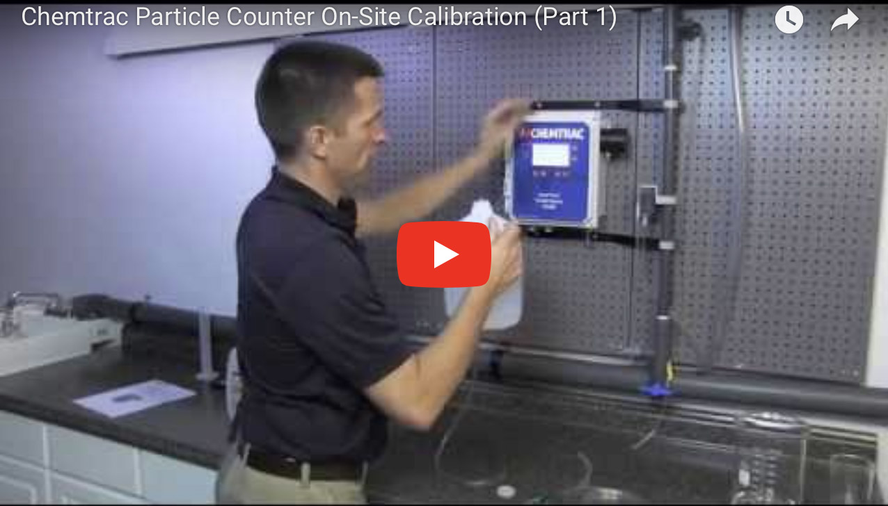 Chemtrac Particle Counter On-Site Calibration (Part 1)